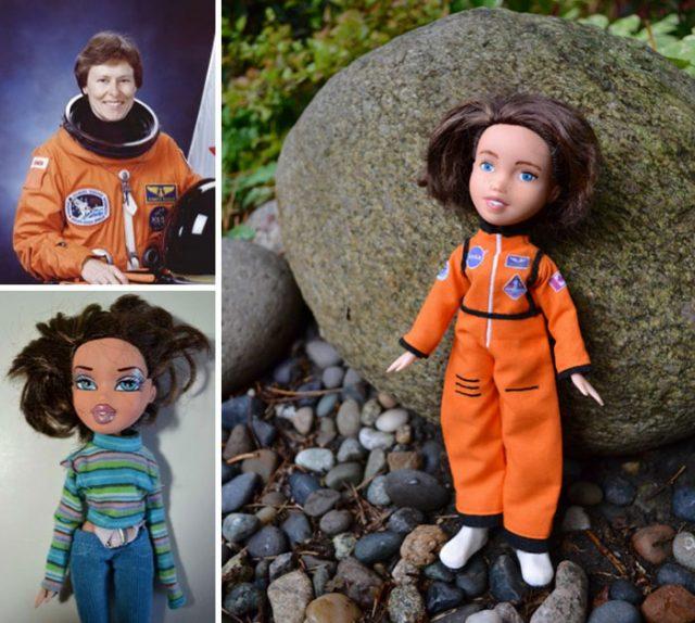 1945 doğumlu olan Roberta Bondar, ilk Kanadalı kadın astronottur. Ayrıca nörolog, fotoğrafçı, yazar, öğretmen ve önemli bir bilim insanıdır.