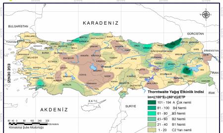 Türkiye İklim Haritası