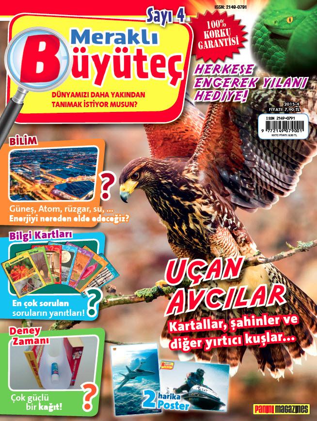 Meraklı Büyüteç Dergisi Kasım 2015