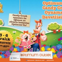 Optimum'da Candy Crush