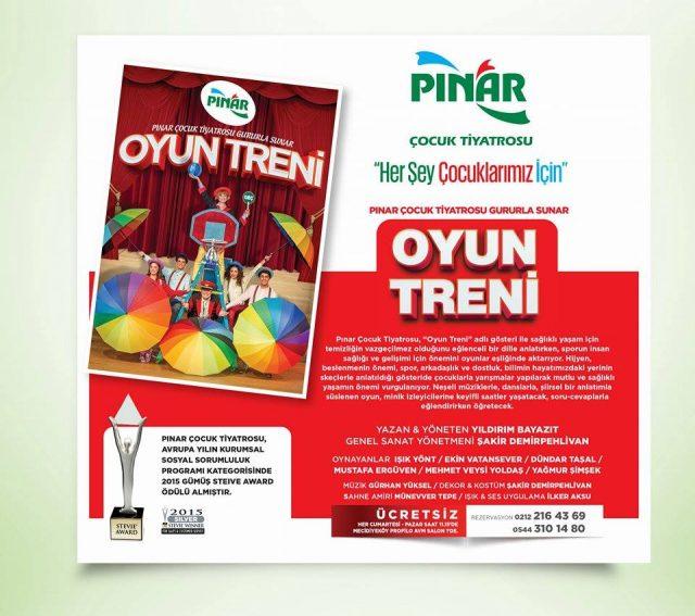 Pınar Çocuk Tiyatrosu Oyun Treni