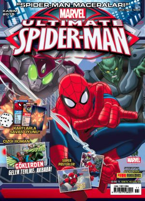 Spider Man Dergisi Kasım 2015