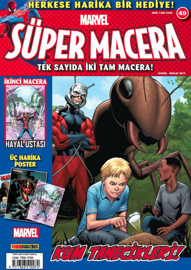 Süper Macera Dergisi Kasım 2015
