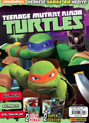 Teenage Mutant Ninja Turtles Dergisi Kasım 2015