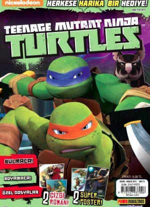 Teenage Mutant Ninja Turtles Dergisi Kasım 2015