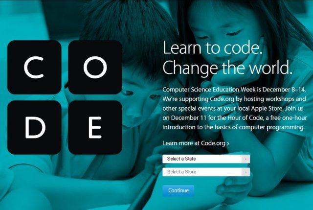 Apple, Hour of Code Etkinliğine Ev Sahipliği Yapacak