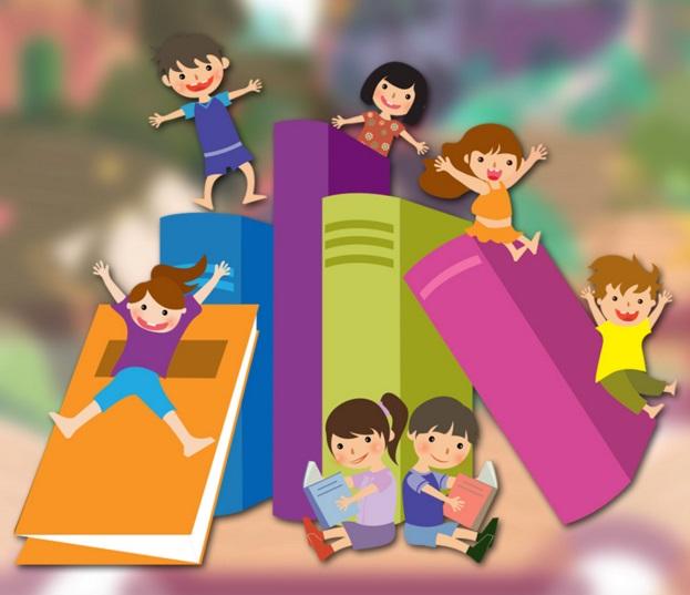 Kitap Okuyan Küçük Kız - Çocuk Masalları