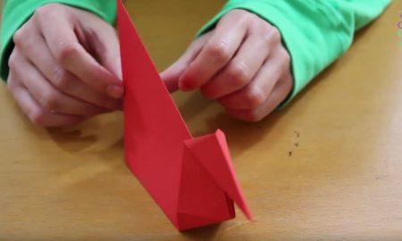 Origami ile Ördek Yapımı