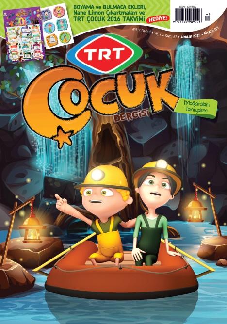 TRT Çocuk Dergisi Aralık 2015