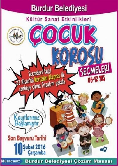 Burdur Belediyesi Çocuk Korosu