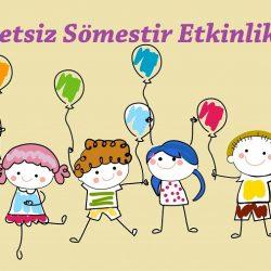 İzmir Ücretsiz Sömestir ETkinlikleri 2016