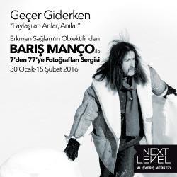 Barış Manço ile 7'den 77'ye Fotoğrafları Sergisi