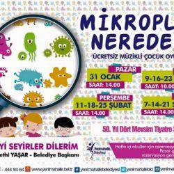Mikroplar Nerede