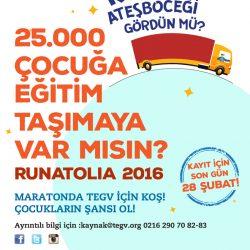 TEGV Run Atolia Koşusu