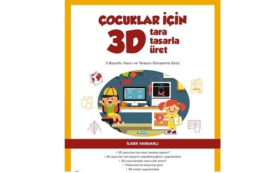 Çocuklar için 3D tara tasarla