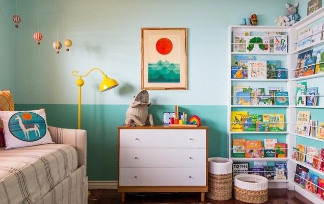 çocuk-odası-kitaplık