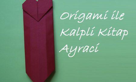 Kitap Ayracı Yapma - Origami Çalışmaları
