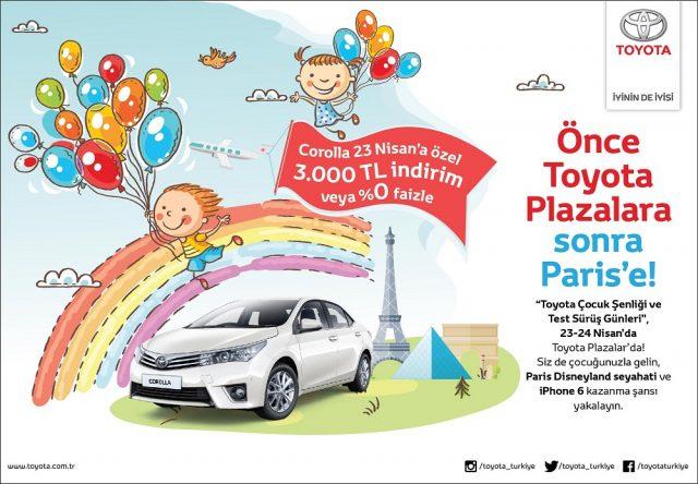 Toyota 23 Nisan Kampanyası