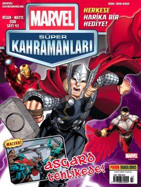 Marvel Süper Kahramanlar-Nisan 2016