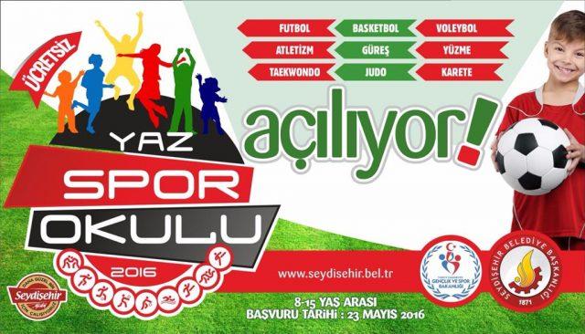Seydişehir Yaz Spor Okulları