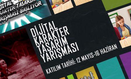 TRT Çocuk Dijital Karakter Yarışması Afiş