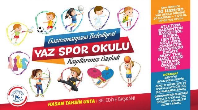 Gaziosmanpaşa Yaz Okulları 2016