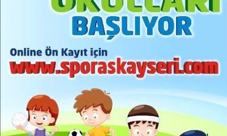 Kayseri Yaz Spor Okulları 2016