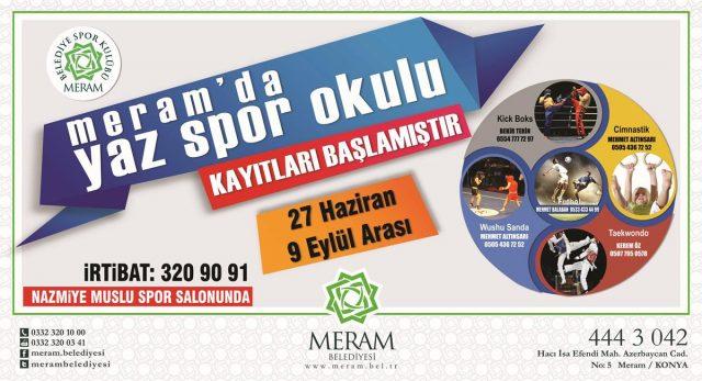 Konya Meram Yaz Okulları