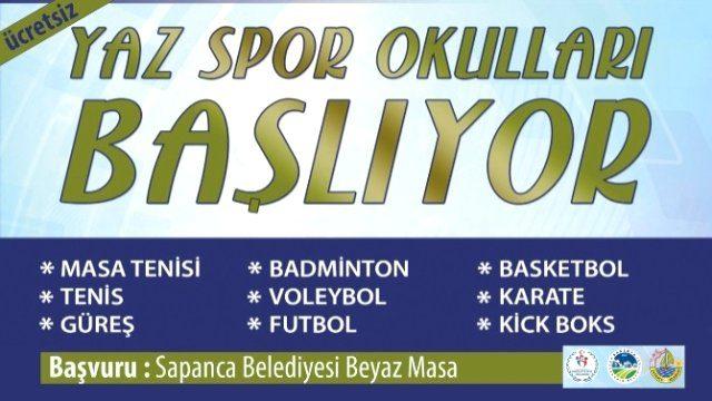 Sakarya Sapanca Belediyesi Yaz Okulları