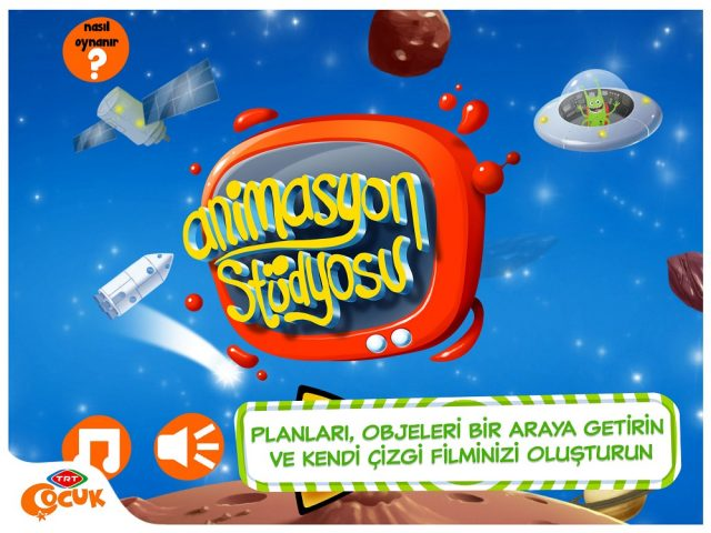 Animasyon Stüdyosu TRT Çocuk Mobil Oyunlar