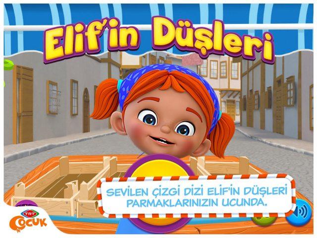 Elif'in Düşleri TRT Çocuk Mobil Oyunlar
