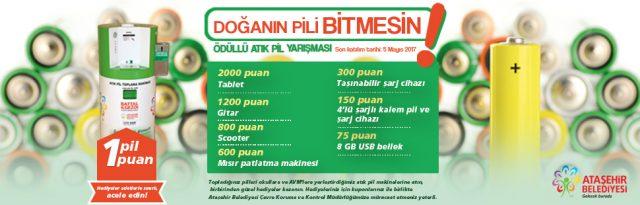 Ataşehir Pil Toplama Yarışması