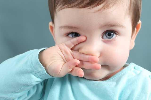 bebeklerde burun temizliği