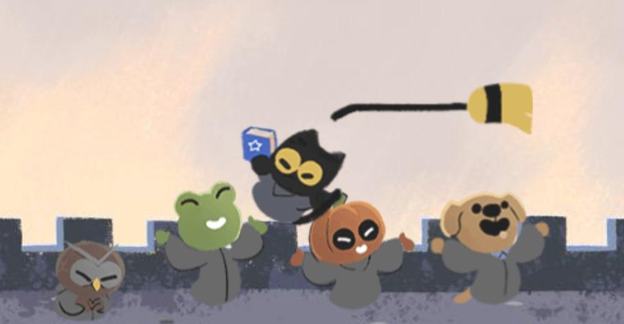 Google'dan Cadılar Bayramı'na Özel Oyunlu Doodle 17