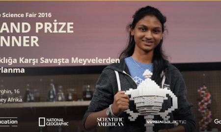 Kiara Google Bilim Fuarı 2016 Büyük Ödül Sahibi