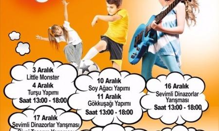 Agora AVM çocuk etkinlikleri