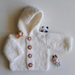 bebek için örgü yelek modelleri