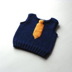 erkek bebek için yelek modelleri