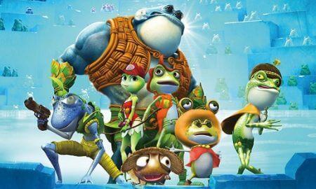 Kurbağa Krallığı Buz Macerası