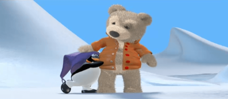 Ayıcık bombo ve penguen