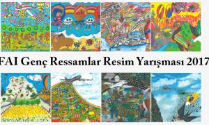 fai genç ressamlar resim yarışması 2017