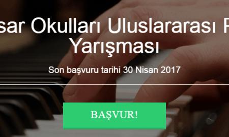 Hisar Okulları Piyano Yarışması