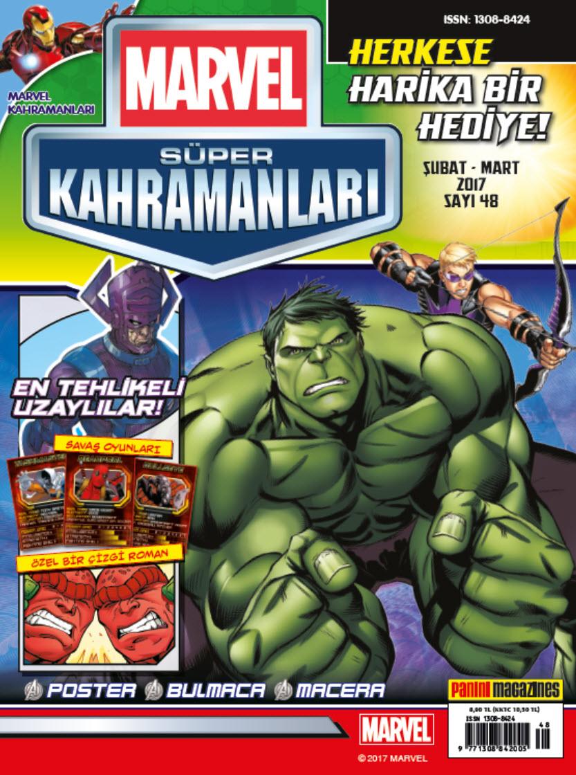 Marvel Süper kahramanları Şubat Mart 2017