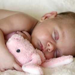 oyuncağıyla uyuyan bebekler