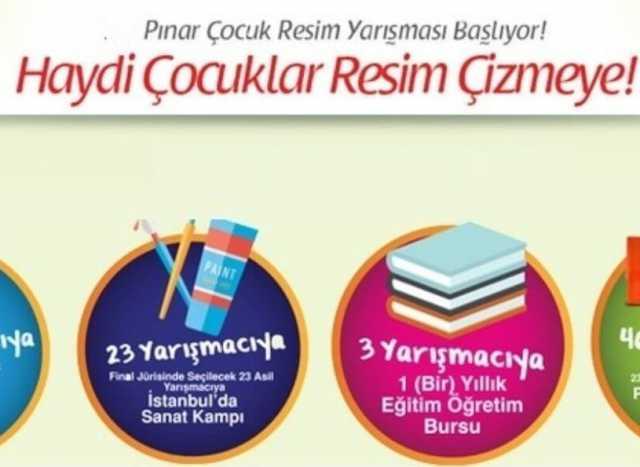 36 pınar resim yarışması 2017