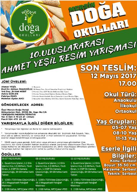 Ahmet Yeşil Resim Yarışması 2017
