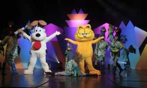 Garfield doğum günü partisi