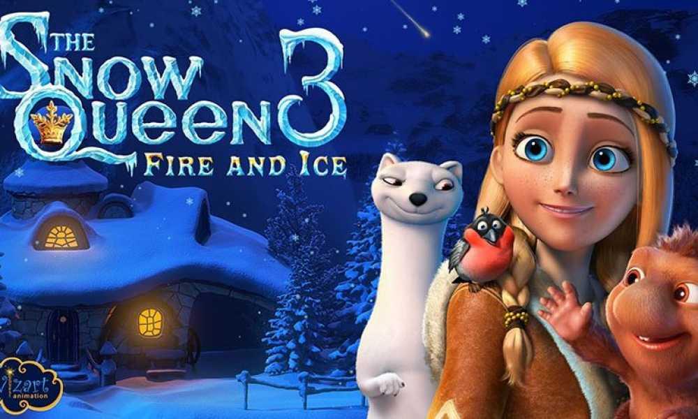 Karlar Kraliçesi 3 ateş ve buz fragman