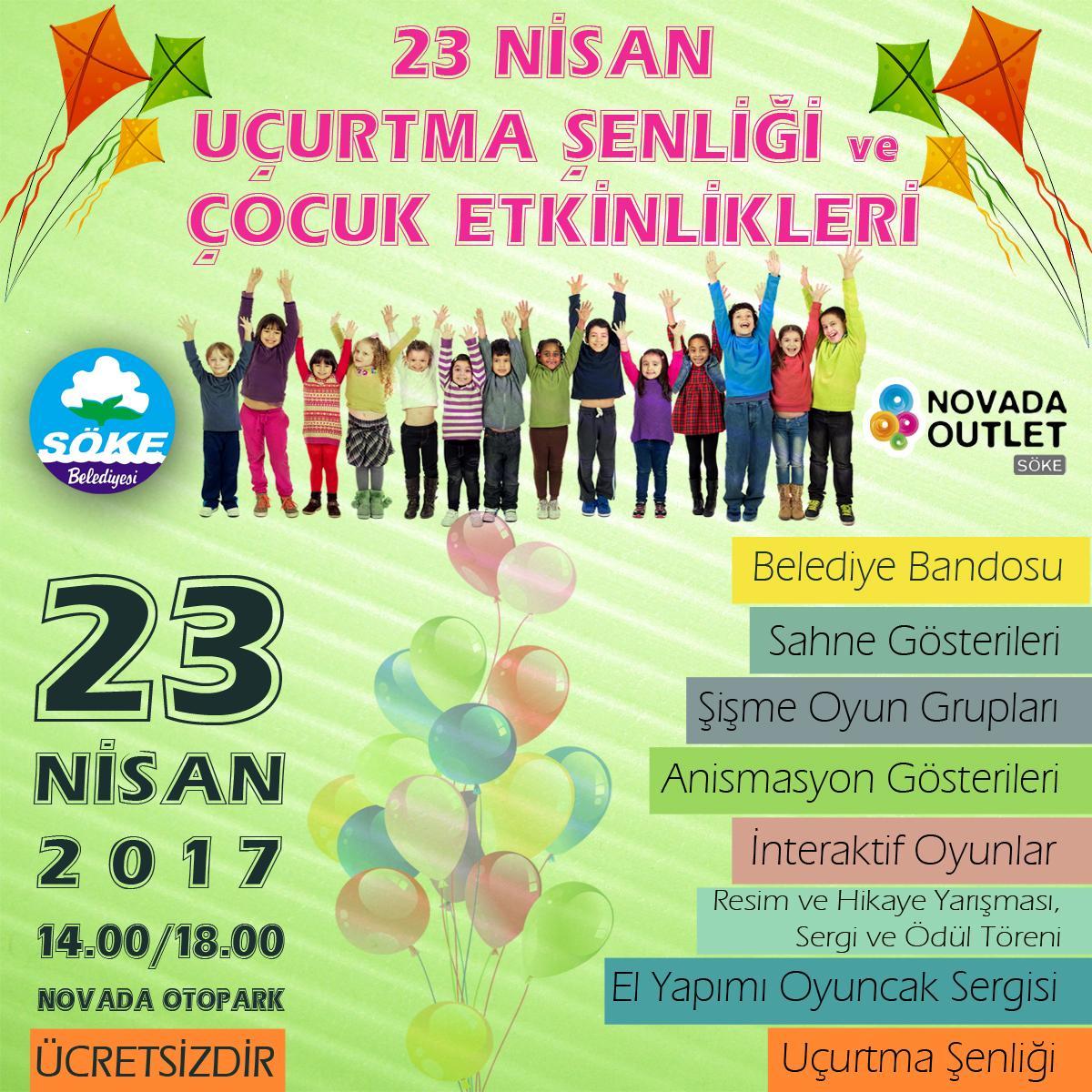 Bağcılar Çocuk Festivali – 23 Nisan Etkinlikleri 2016
