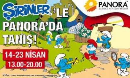 Şirinler Panora AVM 23 Nisan etkinlikleri